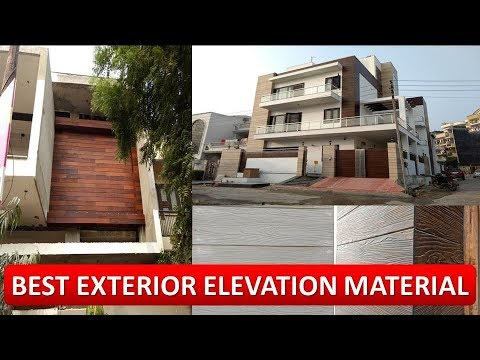 Best Exterior Elevation Material For Your Home घर क Elevation