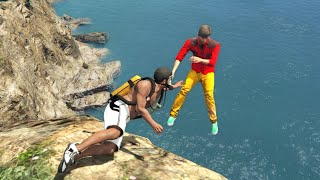 GTA 5 Water ragdolls/fails compilation vol.8 [Euphoria physics | Funny Moments]
