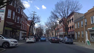 Driving by Frederick,Maryland