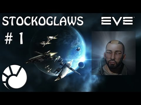 Lets Play Eve Online - Ep 1 My Story