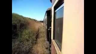 Zimbabwe railways from dete to brawayo ジンバブエ鉄道