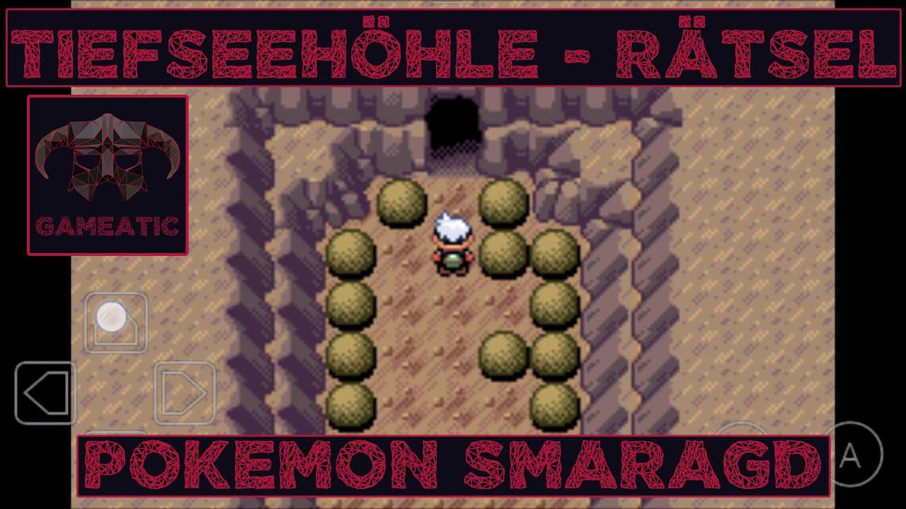 Tiefseehohle Ratsel Pokemon Smaragd Rubin Saphire Tutorial