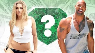 """WHO'S RICHER? - Ronda Rousey or Dwayne """"The Rock"""" Johnson? - Net Worth Revealed!"""