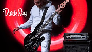 Ernie Ball Music Man: DarkRay Bass in Obsidian Black