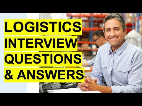 LOGISTICS Interview Questions & Answers! (Logistics Coordinator + Logistics Manager Interview!)