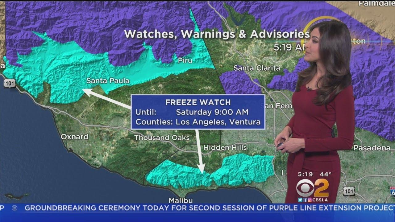 Danielle Gersh's Weather Forecast (Feb. 23)