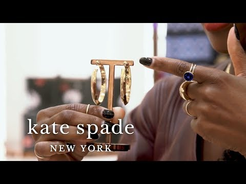 new jewelry: smartwatches, hoop earrings, bangles & more | talking shop | kate spade new york