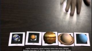 Augmented Reality: Solar System Planets' Order