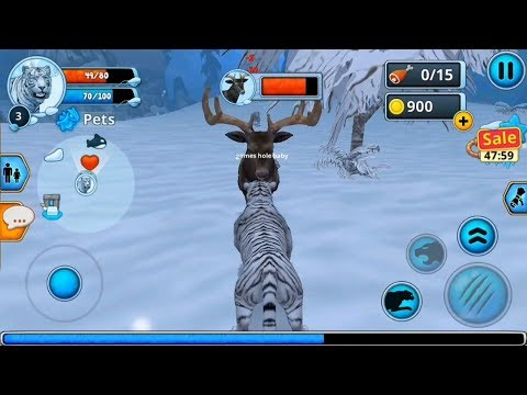 ► Wild Tiger The King Of The Jungle - White Tiger Family Sim Online (Area730 Simulator Games)Android