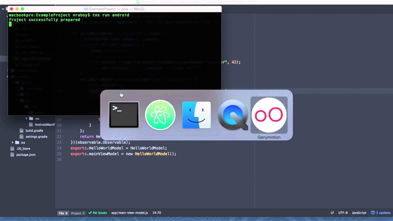 Saving Data In Your NativeScript Mobile Application