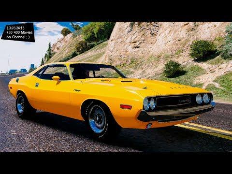 1970 Dodge Challenger R/T Hemi Grand Theft Auto V MGVA Modification