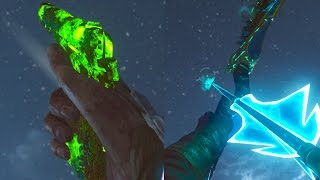 """""""DER EISENDRACHE"""" ROUND 75 WITH BO1 WEAPONS CHALLENGE (Black Ops 3 Zombies)"""