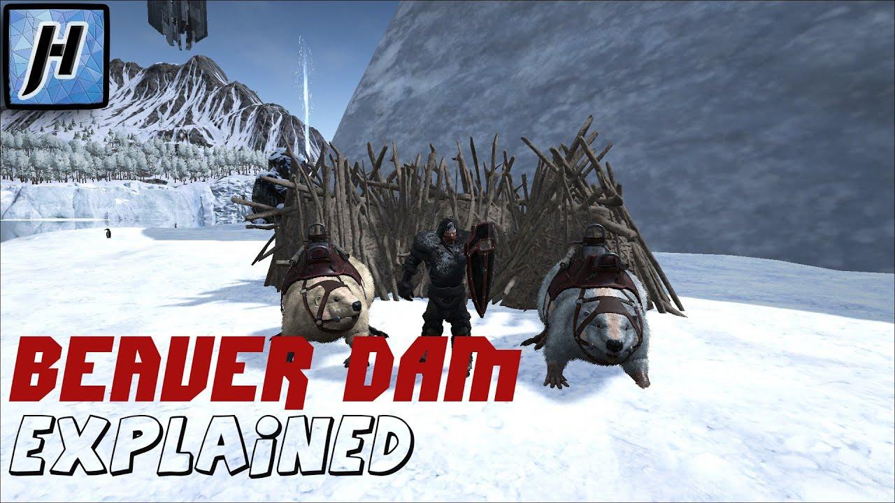 Beaver Dams - Locations & Tips for Looting   Ark: Survival ...   Ark Beaver Dam