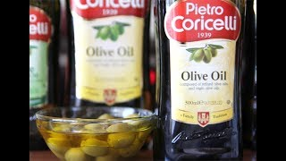 Olive oil 🇮🇹| 🥗🍳【Pietro Coricelli】  Оливковое масло: смесь рафинированного и Extra Virgin