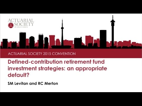 Defined Contribution retirement fund investment strategies  an appropriate default