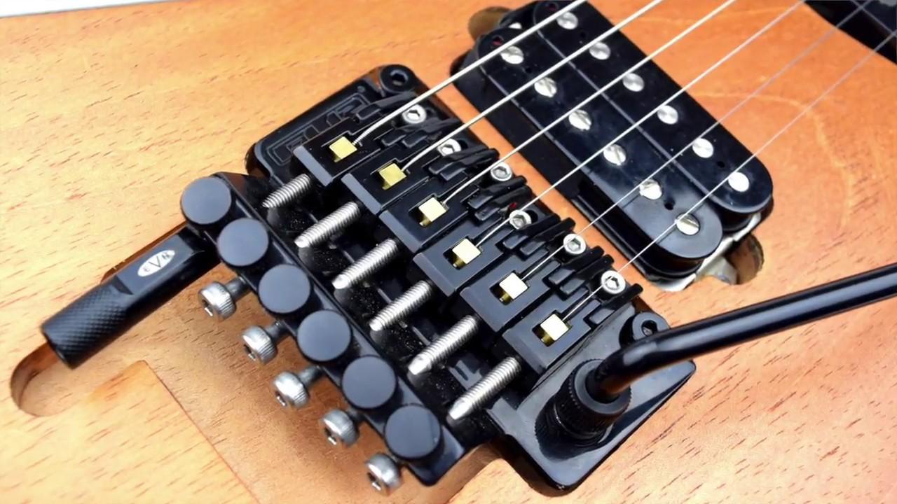 FU-Tone com Titanium & Naval Brass Tremolo Inserts