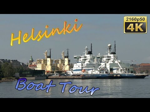 Boat Tour surrounding Helsinki - Finland 4K Travel Channel
