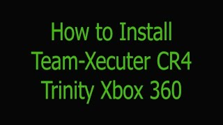 Team-Xecuter CR4 Trinity Xbox 360 Slim Wire Install | NO QSB