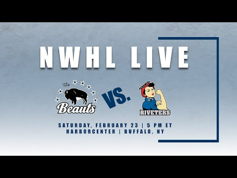 NWHL Live: Metropolitan Riveters at Buffalo Beauts 2.23.19