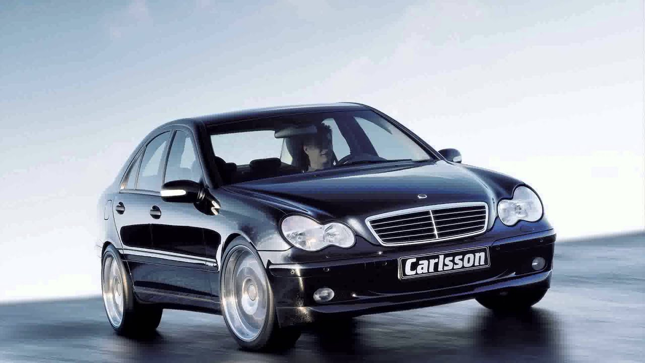 mercedes benz c class w203 tuning cars youtube. Black Bedroom Furniture Sets. Home Design Ideas