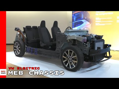 VW Electric Vehicle MEB Chassis - Volkswagen