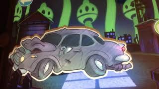 Car cartoons gif dolphin gif jump turn  BBM ride tower torror big Thunder moutain mcqueen