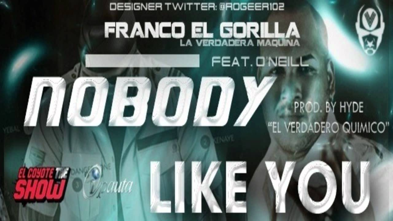 nobody like you franco el gorila mp3