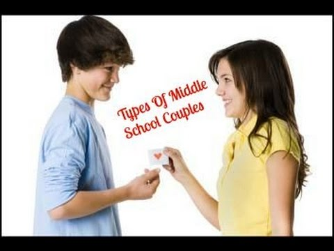 What do middle school couples do