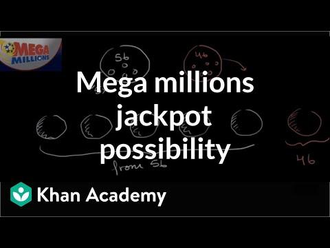 Mega millions jackpot probability | Probability and combinatorics | Precalculus | Khan Academy