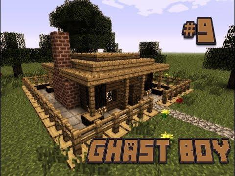 Minecraft Xây Dựng #9 – Căn Nhà Gỗ Đá Đỏ !!