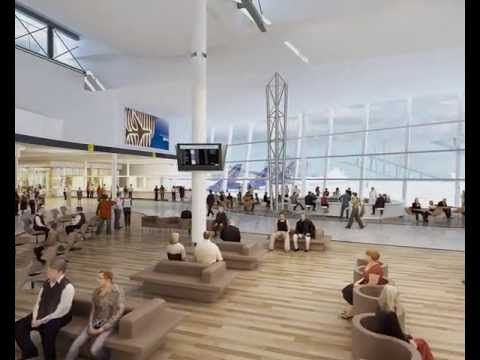 brussels airport connector interior youtube