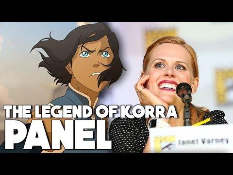 The Legend Of Korra Comic Con Panel 2017