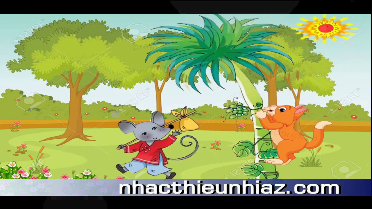 Con mèo trèo cây cau - nhacthieunhiaz.com