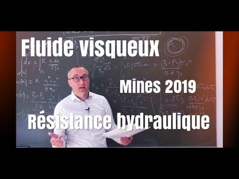 Mines Physique 2 PSI PC 2019 (2) : écoulement De Poiseuille