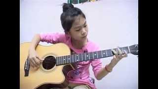Right Here Waiting guitar - Doan My Duyen