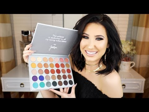THE JACLYN HILL X MORPHE PALETTE REVEAL + SWATCHES