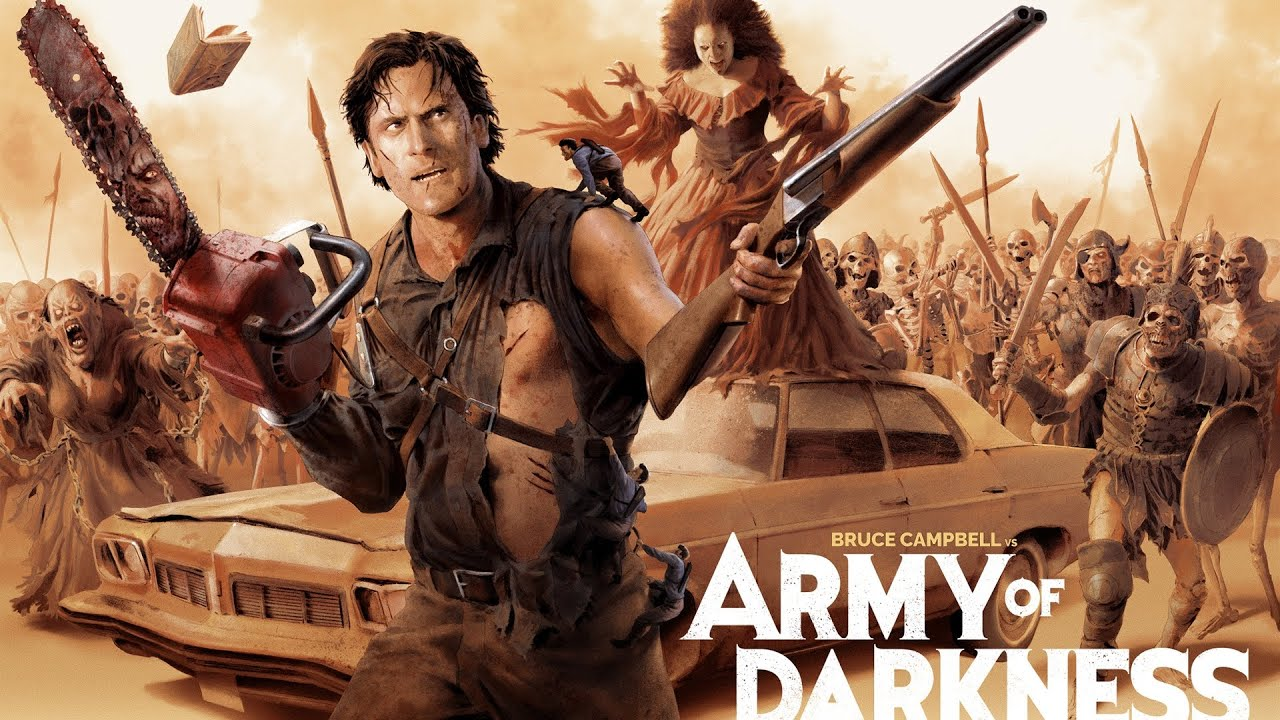 Download Army of Darkness Comedy Horror Movie Full Length Film