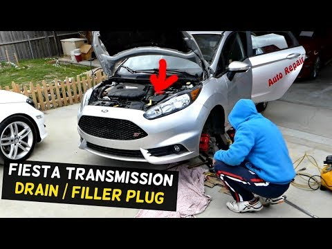 Ford Fiesta St Transmission Drain Fill Plug Location Mk7 Youtube