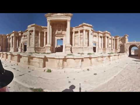 Palmyra in 360: Scars left behind by ISIS