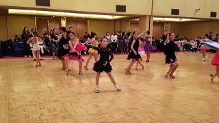2018 제1회 WCDA  world junior dance championship  초등고학년 3종목 rumba 준결승전