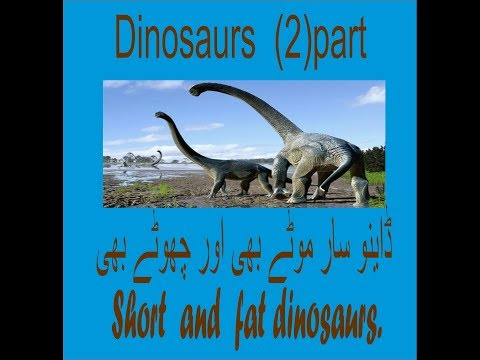 Dinosaurs  (2)part