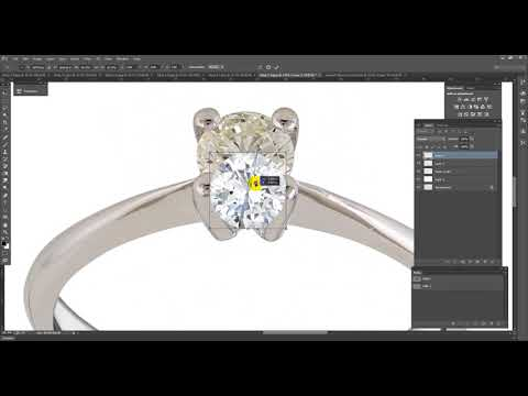 Hi-end Jewelry Retouching For  Online Shop!