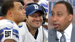 Stephen A. is serious about Tony Romo coaching the Dallas Cowboys | Get Up!