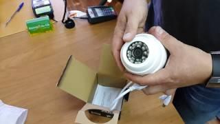Обзор бюджетной AHD камеры aks-7201 base 2.8