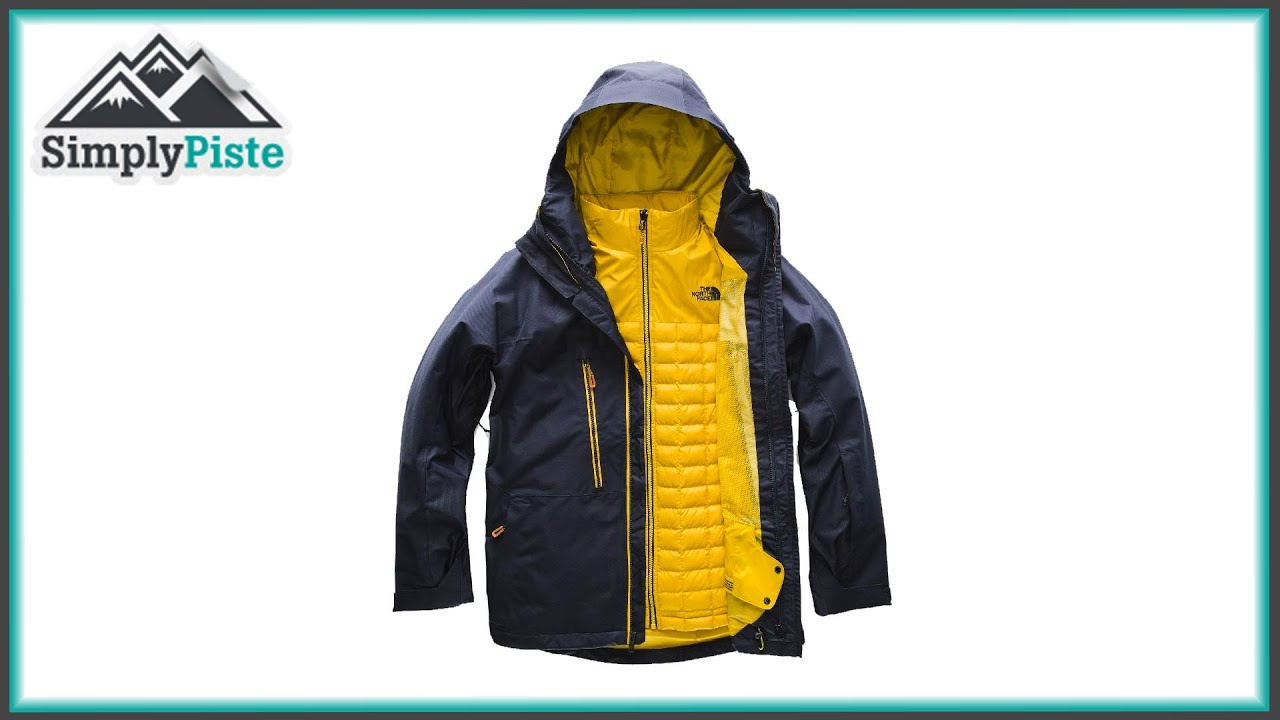 df0f1fc07 The North Face Mens Thermoball Snow Triclimate Jacket - www.simplypiste.com
