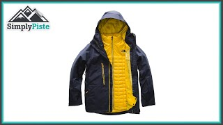 The North Face Mens Thermoball Snow Triclimate Jacket - www.simplypiste.com