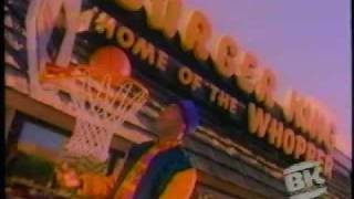 Burger King Dinner Baskets Ad from 1992
