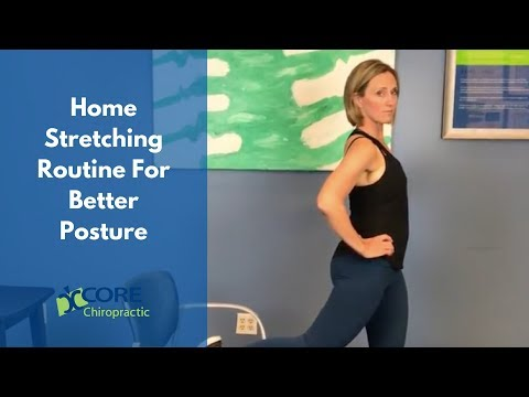 Home Stretching Routine For Better Posture - Chiropractor Houston