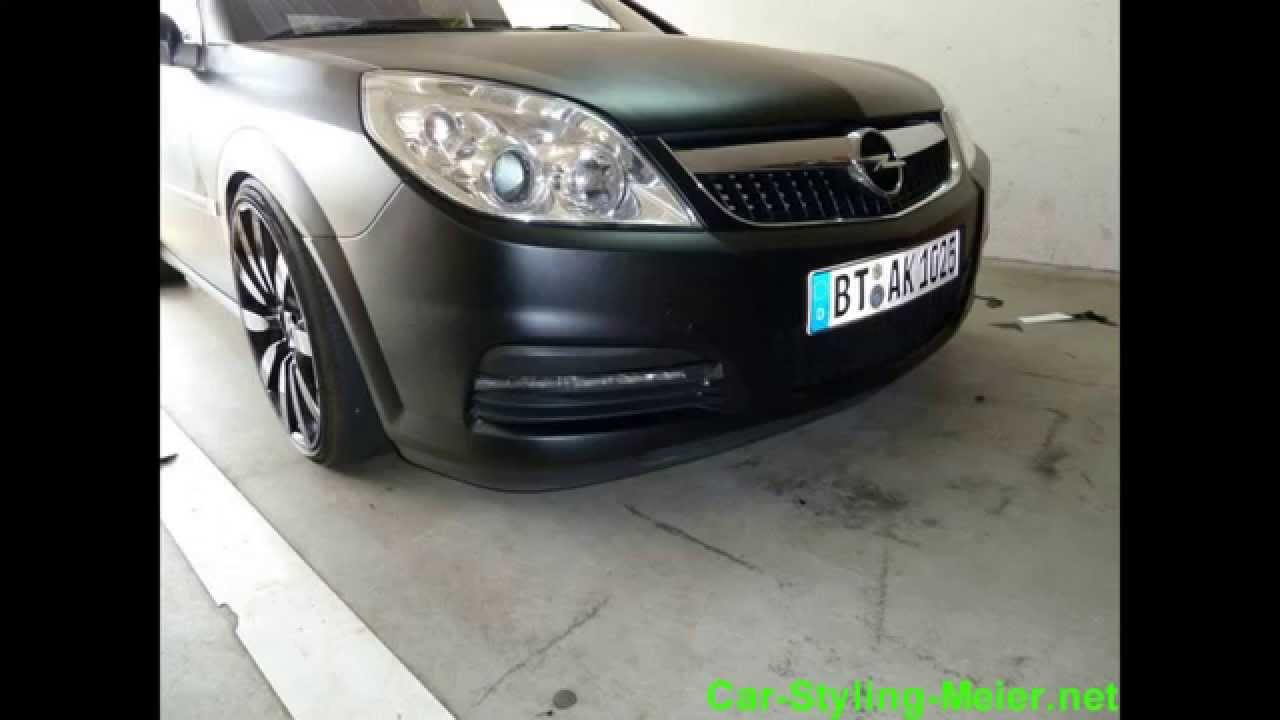 Car Wrapping Die 1 Opel Vectra C Youtube