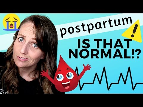 Ob/Gyn Discusses Weird Postpartum Symptoms & Warning Signs